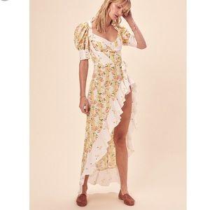 NWT For Love & Lemons Savannah Maxi Dress